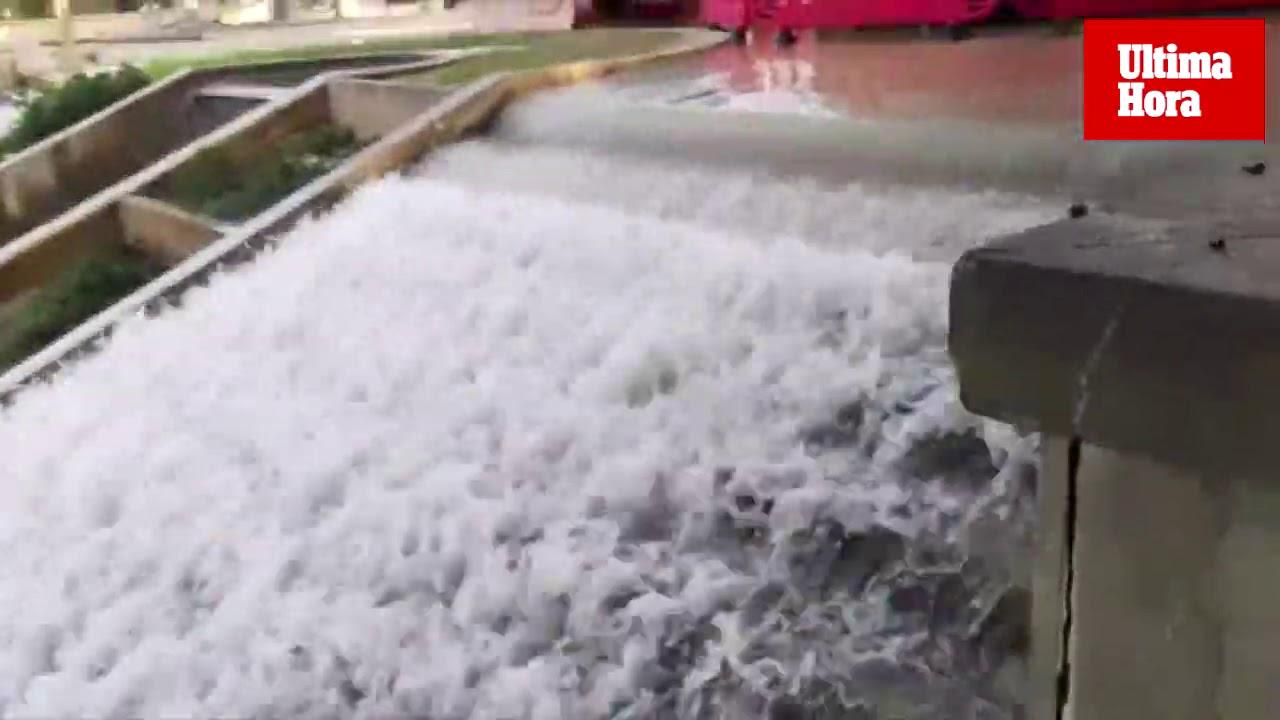 Sa Feixina, inundada