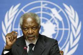 Kofi Annan dimite como mediador de la ONU en Siria por la ausencia de avances