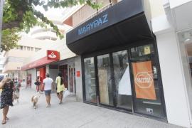 Policía Nacional investiga el robo en una oficina bancaria de Ibiza