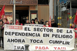 CCOO critica la 'falta de agilidad' del Govern para pagar a los centros de dependencia