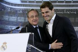Florentino Pérez abre las puertas a Casillas