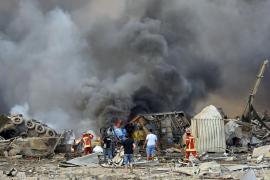 «Innumerable» número de muertos y heridos por la fuerte explosión en Beirut