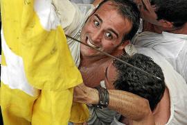 Batalla moros y cristianos en Pollença 2012