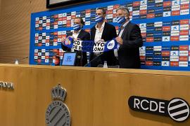 Moreno, técnico del Espanyol: «Tenía muy claro que quería subirme a este carro»
