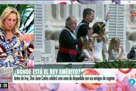 Mariángel Alcázar, sobre la relación del rey emérito y Felipe VI: «Si le ha mentido, ha sido por protegerle»