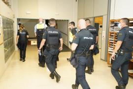 La policía se incauta de 4,5 kilos de cocaína en una operación antidroga en Palma