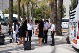 Huelga este fin de semana de los trabajadores del servicio de portaequipajes de Son Sant Joan