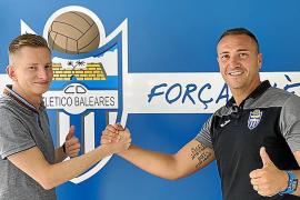 El Atlético Baleares firma a Fito Miranda y amplía el contrato de Luca Ferrone