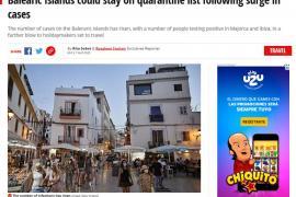 'The Sun' y 'Mirror' afirman que los contagios en Baleares confirmarán la cuarentena