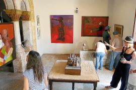 Campos estrena su Nit de l'Art con una gran participación e implicación vecinal