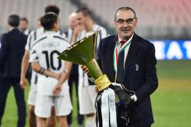 La Juventus destituye a Maurizio Sarri tras la eliminación europea