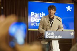 Puigdemont, elegido presidente de JxCat con el 99 % de votos de las bases