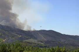 Un muerto y tres heridos de la UME en el incendio de Sierra de Gata