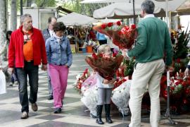 Las floristerías temen que la subida  del IVA provoque despidos y el cierre de tiendas