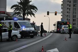 Detenidos dos conductores tras dar positivo en un control en Palma