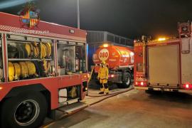 El incendio en una nave del polígono de Can Valero ha sido intencionado