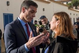 Pedro Sánchez se reunirá este miércoles con Armengol después del despacho con el Rey en Marivent