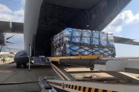 Llega al Líbano un avión del Ejército español con ayuda de emergencia