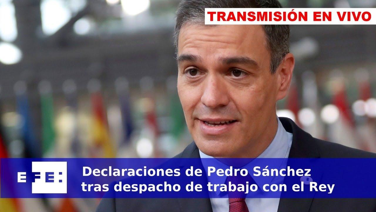 Así ha sido la rueda de prensa de Pedro Sánchez desde Marivent