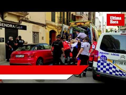 Una mujer, en estado grave tras precipitarse desde un segundo piso en Palma