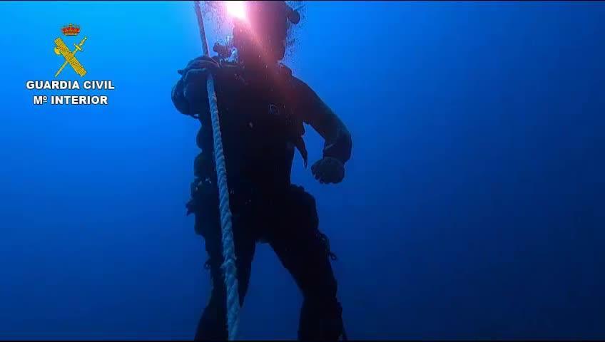 El rescate del cuerpo de Fernando Garferlla se realizó con un robot submarino