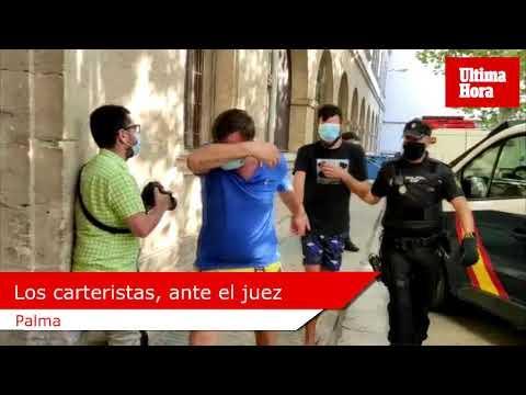 Los carteristas detenidos en Palma 'facturaron' 12 millones de euros en los últimos años