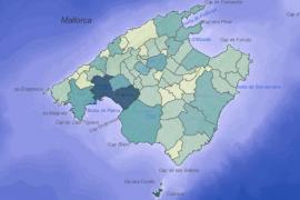Casi tres de cada cuatro municipios de Mallorca tienen casos activos de COVID-19