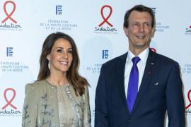 El príncipe Joaquín de Dinamarca reaparece tras su operación de cirugía cerebral