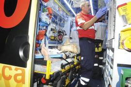 Un joven turista ebrio cae desde el balcón de su apartamento horas después de llegar a Mallorca