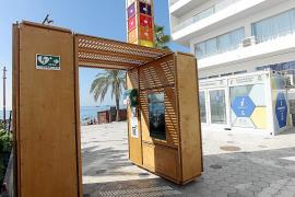 'Hi Point' ubicado en el paseo de Ses Figueretes.