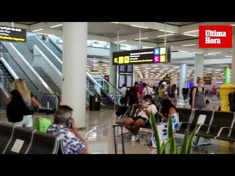 Pesimismo en el aeropuerto de Palma por el fin de la temporada