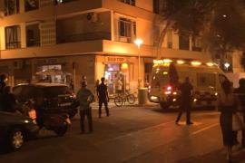 Detenido por cortarle el cuello a un cliente de un bar de Palma tras una discusión