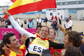 Marina Alabau da el primer oro a España en Londres