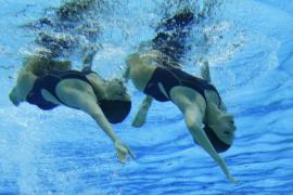 Ona Carbonell y Andrea  Fuentes se cuelgan la plata en natación sincronizada