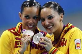 Ona Carbonell y Andrea Fuentes