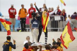 Marina Alabau celebra el oro