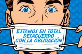 Miguel Bosé, el gran ausente contra las mascarillas