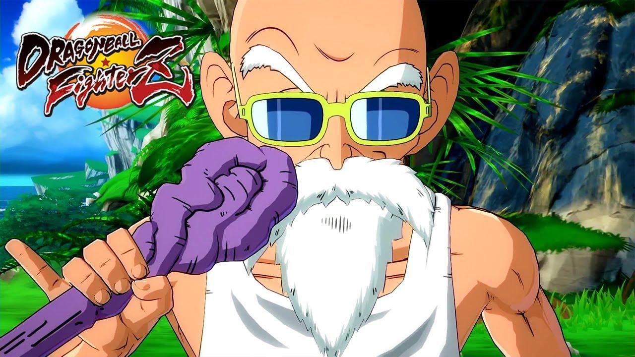 El maestro Roshi llega a DRAGON BALL FighterZ
