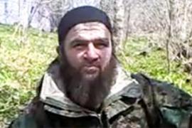Screenshot of Chechen rebel leader Doku Umarov