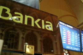 Bankia se dispara un 24% en Bolsa a la espera de recibir la ayuda de Bruselas