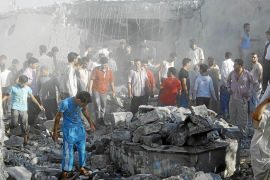 Al Asad gana terreno en Alepo