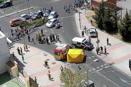 Muere una policía en un tiroteo en un atraco a una oficina de Correos de Madrid