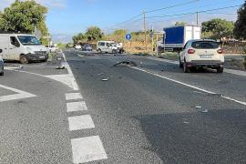 La rotonda de la carretera de Sineu se incluirá en un proyecto de reforma global