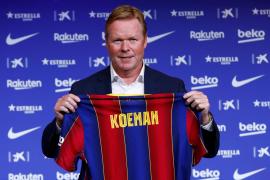 Ronald Koeman, etrenador del Barcelona