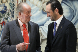 El Rey reconoce ante las autoridades de Balears que «no será fácil» salir de la crisis