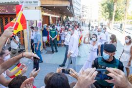 Los músicos de Ibiza cuestionan que se permitieran aglomeraciones en la visita del Rey