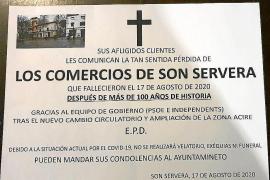 Preocupación entre los comerciantes del centro de Son Servera por la reforma circulatoria