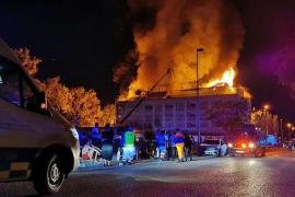 Incendio en Marbella