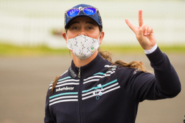 Nuria Iturrioz arranca el British Open de golf en cuarta posición