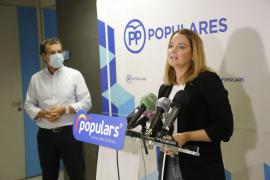 Margalida Prohens defiende una oposición del PP «contundente pero constructiva»